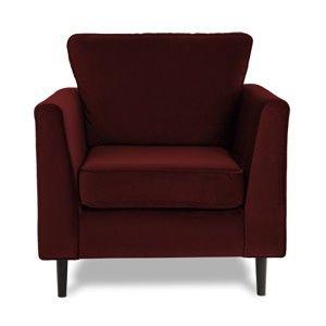 Fotel VIVONITA Portobello Dark Red
