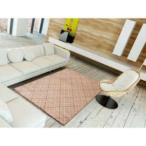 Różowy dywan odpowiedni na zewnątrz Universal Sofie Pink, 135x190 cm