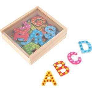 Zestaw kolorowych literek na magnes Legler Letters