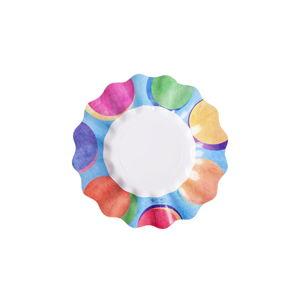 Zestaw 10 talerzy papierowych GiviItalia Panarea, ⌀ 27 cm