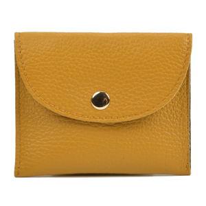 Żółty portfel skórzany Sofia Cardoni