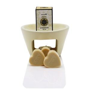 Lampa aromatyczna o zapachu wanilii Aromabotanical Sweet Home, 30h