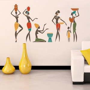 Dekoracyjna naklejka na ścianę Egyptian Woman