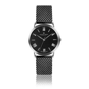 Zegarek męski z paskiem w czarnym kolorze ze stali nierdzewnej Frederic Graff Dareo