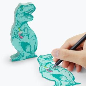 Karteczki samoprzylepne Just Mustard T-Rex