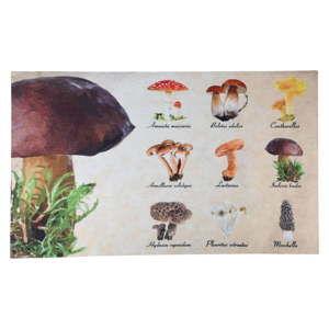 Wycieraczka z motywem grzybów Esschert Design, 45,4x75 cm