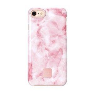 Różowo-białe ochronne etui na iPhone 7 i 8 Happy Plugs Slim