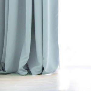 Niebieska zasłona DecoKing Pierre, 140x270 cm