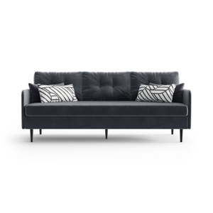 Antracytowa sofa 3-osobowa Daniel Hechter Home Memphis Anthracite