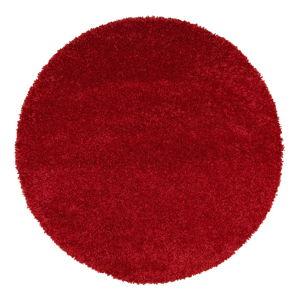 Czerwony dywan Universal Aqua Liso, ø 80 cm