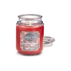 Świeczka w szkle o zapachu jabłek Candle-Lite, 110 h