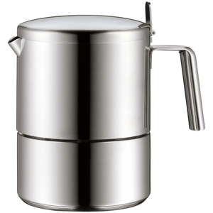 Okrągła kawiarka ze stali nierdzewnej Cromargan® WMF Kult