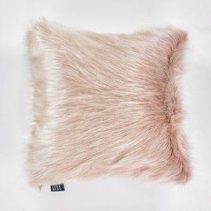 Różowa poszewka na poduszkę WeLoveBeds Fluffy, 50x50 cm