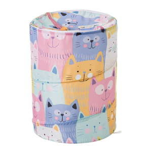 Kosz składany z motywem kolorowych kotów Unimasa Kitty,⌀40cm