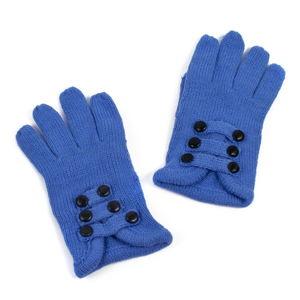 Ciemnoniebieskie damskie rękawiczki Art of Polo Pamela