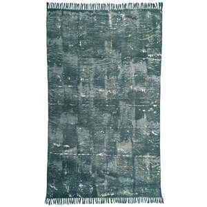 Zielony dywan bawełniany Oreste Luchettas Yantra, 195x115cm