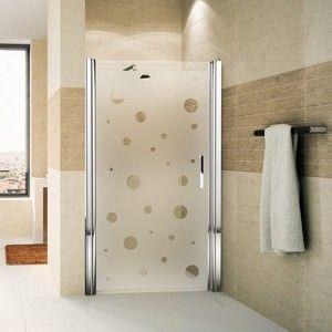 Naklejka na drzwi prysznicowe Ambiance Bubbles