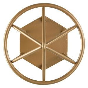 Haczyk ścienny w kolorze złota Wenko Menton