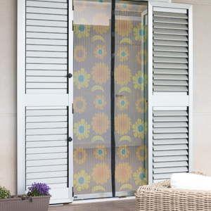 Siatka na drzwi przeciwko owadom w kwiaty InnovaGoods
