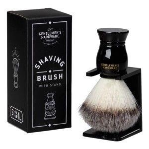 Pędzel do golenia ze stojakiem Gentlemen's Hardware