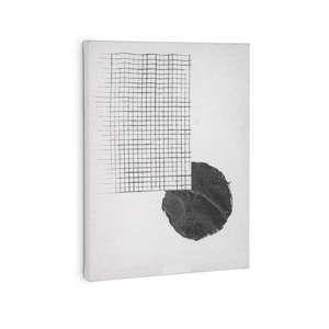 Biały obraz La Forma Prism, 40x30 cm