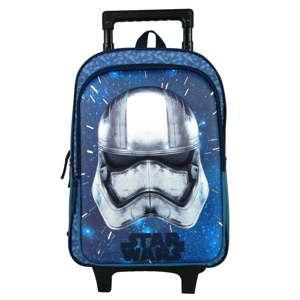 Niebieski plecak szkolny na kółkach Bagtrotter Star Wars