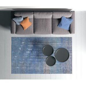 Niebieski dywan Oyo home Suzzo Smoodo, 80x150 cm