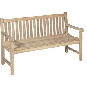 Ogrodowa ławka 3-osobowa z drewna tekowego ADDU Solo