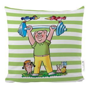 Poszewka na poduszkę z satyny bawełnianej Mr. Little Fox Bobik, 50x50 cm