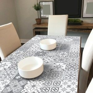 Zestaw 60 naklejek na meble Ambiance Tiles Stickers For Furniture Virginio, 15x15 cm