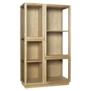 Witryna Hübsch Oak Display Cabinet, wys. 187 cm