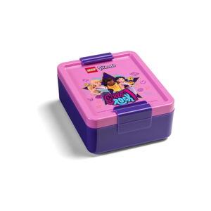 Komplet butelki na wodę i pudełka na przekąski LEGO® Friends Girls Rock