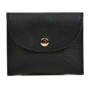 Czarny portfel skórzany Sofia Cardoni