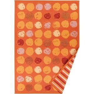 Pomarańczowy dywan dwustronny Narma Veere, 140x200 cm