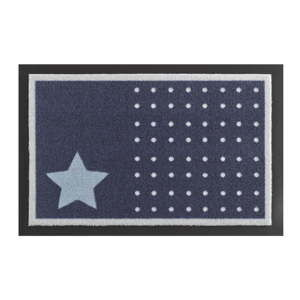 Wycieraczka Zala Living Star and Dots Dark Blue, 40x60 cm