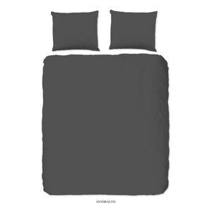 Szara bawełniana pościel dwuosobowa Good Morning Universal, 220x240 cm