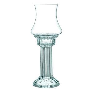 Świecznik z podstawką ze szkła kryształowego Nachtmann Santorin Hurricane